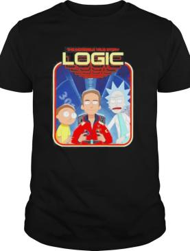 The incredible true story logic rick and morty shirt