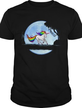 Unicorn Running shirt