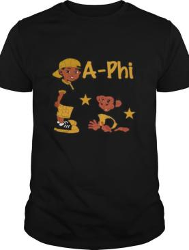 Boy and monkey stars alpha phi alpha shirt