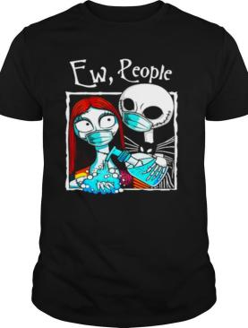 Jack And Sally Wearing Facemask Hand Sanitizer shirt