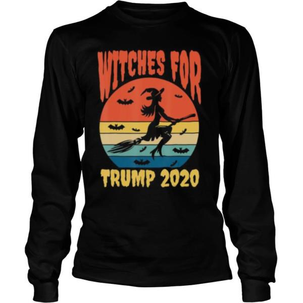 Witches for Trump Retro Vintage Broomstick Hat shirt