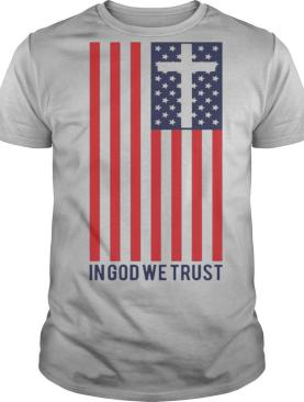 In God We Trust American Flag shirt