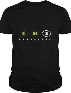 8 24 2 Kobe Gianna Bryant Tribute shirt