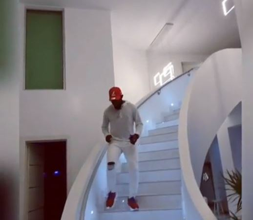 Comedian AY Shows Off Inside And Outside Of His Multimillion Naira Mansion