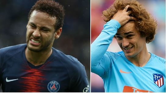 Barcelona In Financial Crisis Over Griezmann Deal, Neymar Move Might Fail