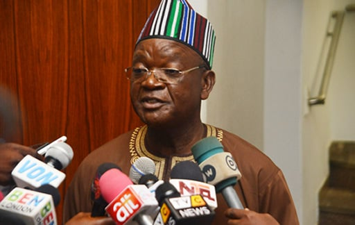 Ortom meets protesting pensioners, begs for forgiveness