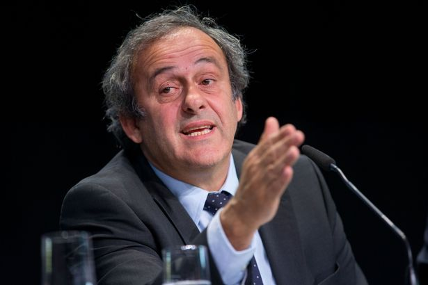 I will be back, banned Platini insists