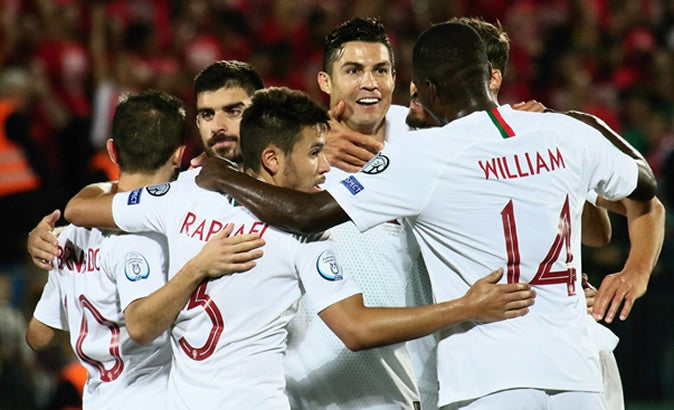 Euro 2020 qualifier: Ronaldo scores four goals as Portugal rout Lithuania 5-1