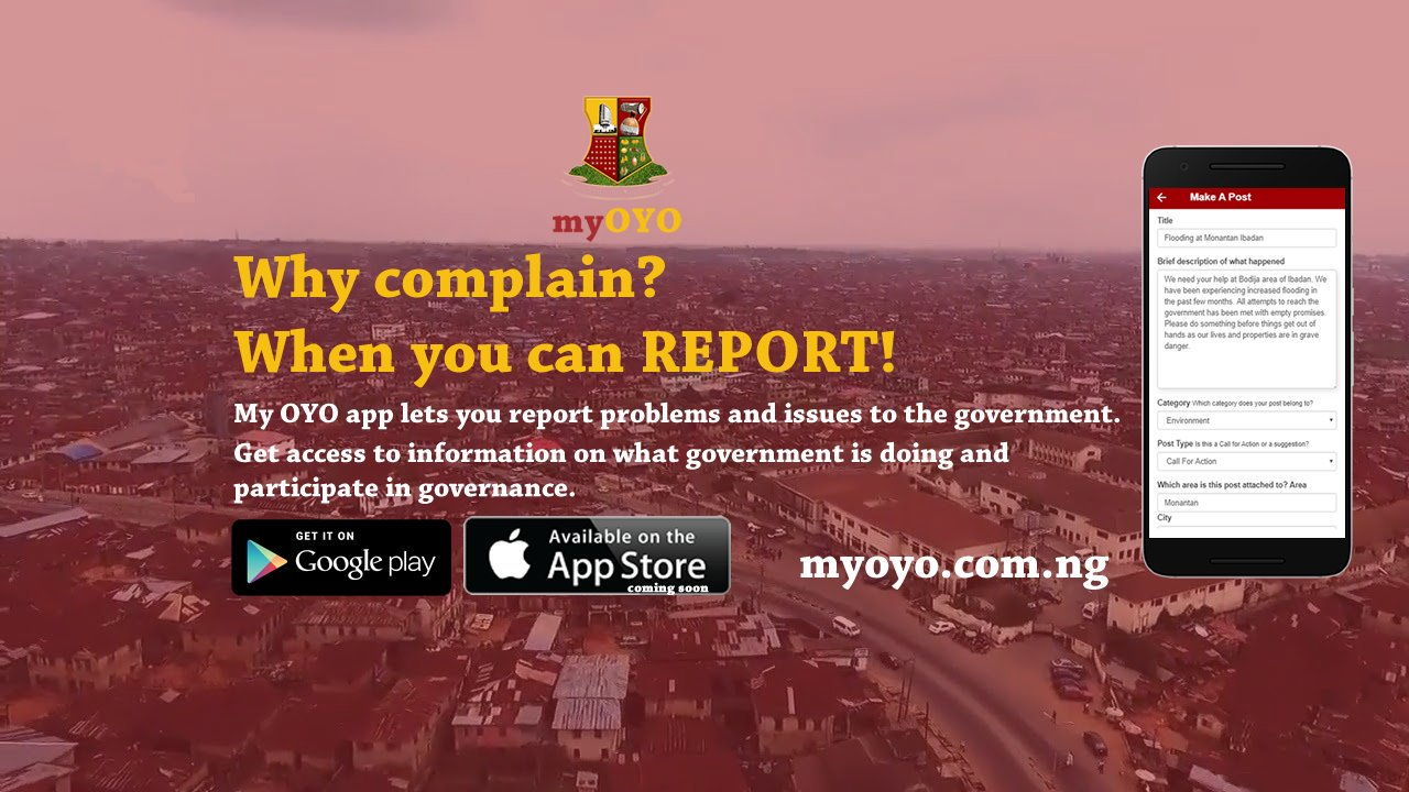 My Oyo App Eases Citizen-Government Interactions; All you need to Know about the App