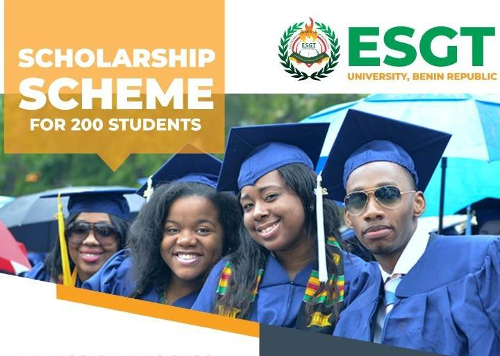 Esgt University,Benin Republic offer Scholarship Admission into 2020/2021 Session