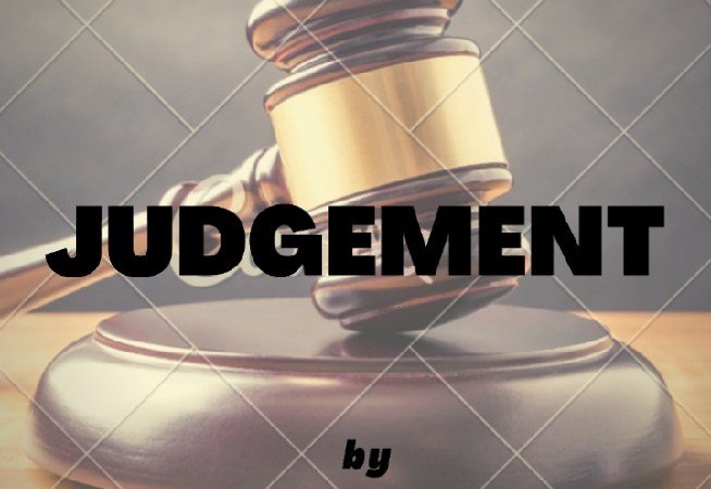 Judgement: A Story By Tadese Adejumoke Sharon