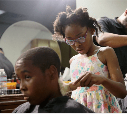 Meet The World's Youngest Barber, Neijae Graham-Henries Who Is Just 9 Years Old