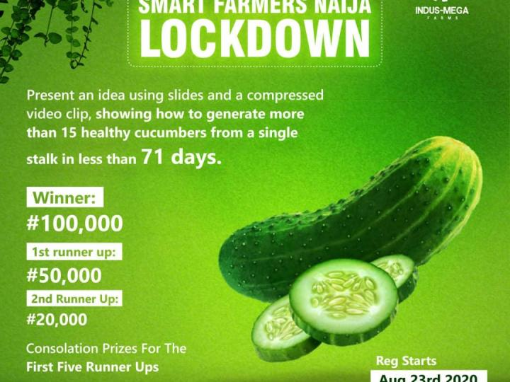 "Indus-Mega Farms(IMF) organizes a Nationwide virtual competition tagged, ""Smart Farmers Naija Lockdown."""