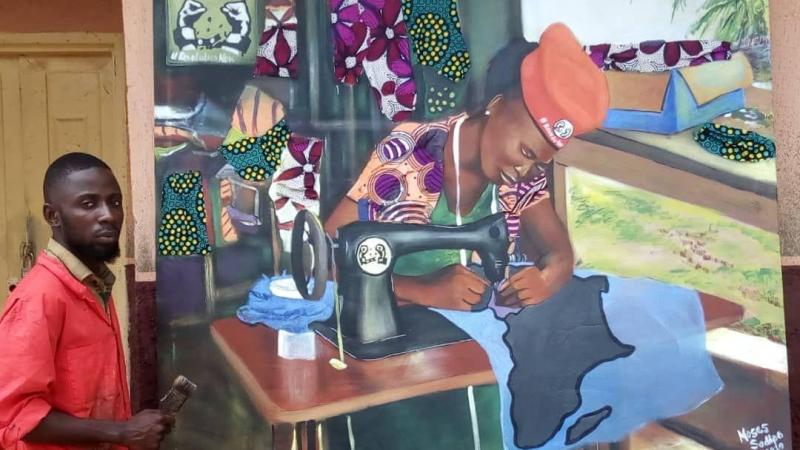 Spotlight: Moses Sodipo's Impressionist Paintings Are Steeped in Yoruba Symbolism