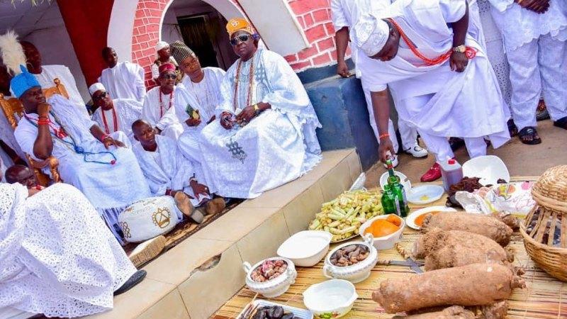 Tadenikawo Diekoloreoluwa Ogunwusi Ojaja II – That's the name of Ooni of Ife & Olori Silekunola's Prince