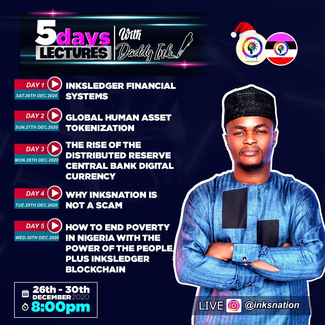 Watch: Highlights from the 5 Days Lecture with Daddyink