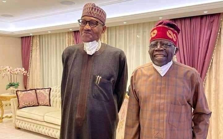 Buhari Visits Tinubu in London As Ex-Lagos Governor Recuperates With Use Of Walking Stick After Second Surgery