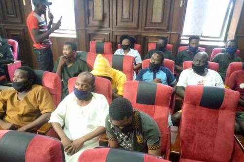 #Oduduwa12: How Igboho's Aides Slept On Bare Floor For 34 Days