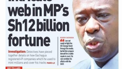 Mathira MP Rigathi Gachagua faces up to 72 years in prison