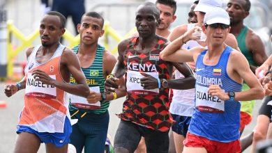 Kenya's Kipchoge retains Olympic title