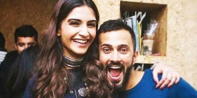 sonam kapoor & her husband