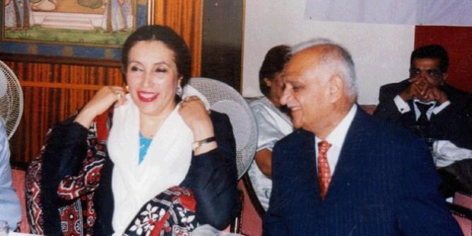 bashir riaz with banzir bhutto