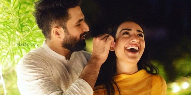 Falak Shabir marriage pics