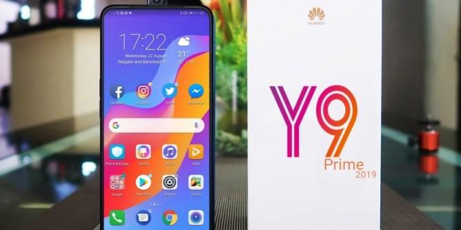 Huawei Y9 Prime mobile