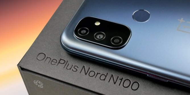 OnePlus Nord N100 mobile