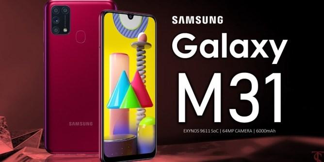 Samsung Galaxy M31 mobile