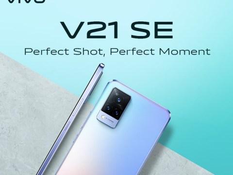 Vivo V21 SE phone