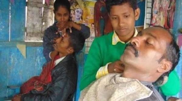 girl barber