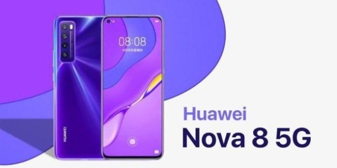 huawei nova 8 mobile