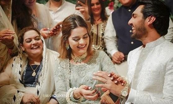 minal khan marriage pics