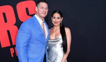 nikki bella with john cena