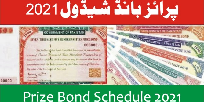 prize bond list 2021
