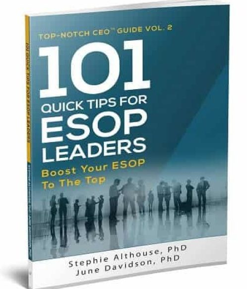 101 Quick Tips for ESOP Leaders