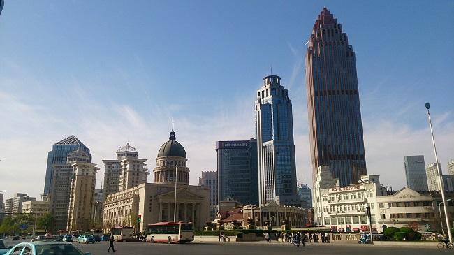 โรงแรมที่พัก เทียรจิน Tianjin China จีน Topofhotel รีวิวโรงแรม