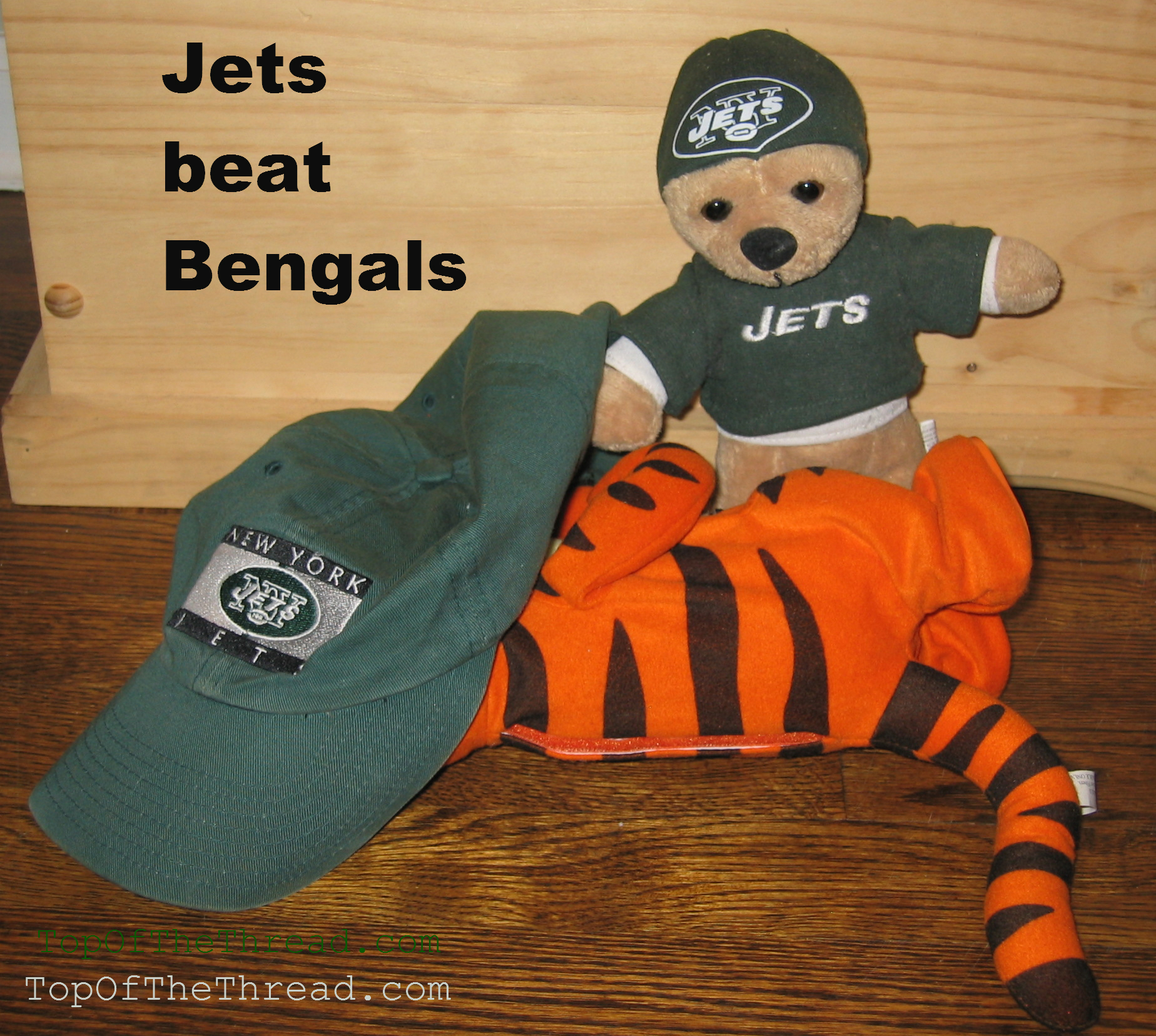 NY Jets Beat Bengals