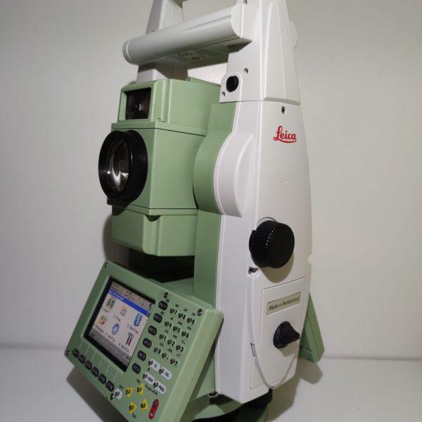 Station totale robotisée Leica TCRP1201+ 1″ R1000 géocom étendu.