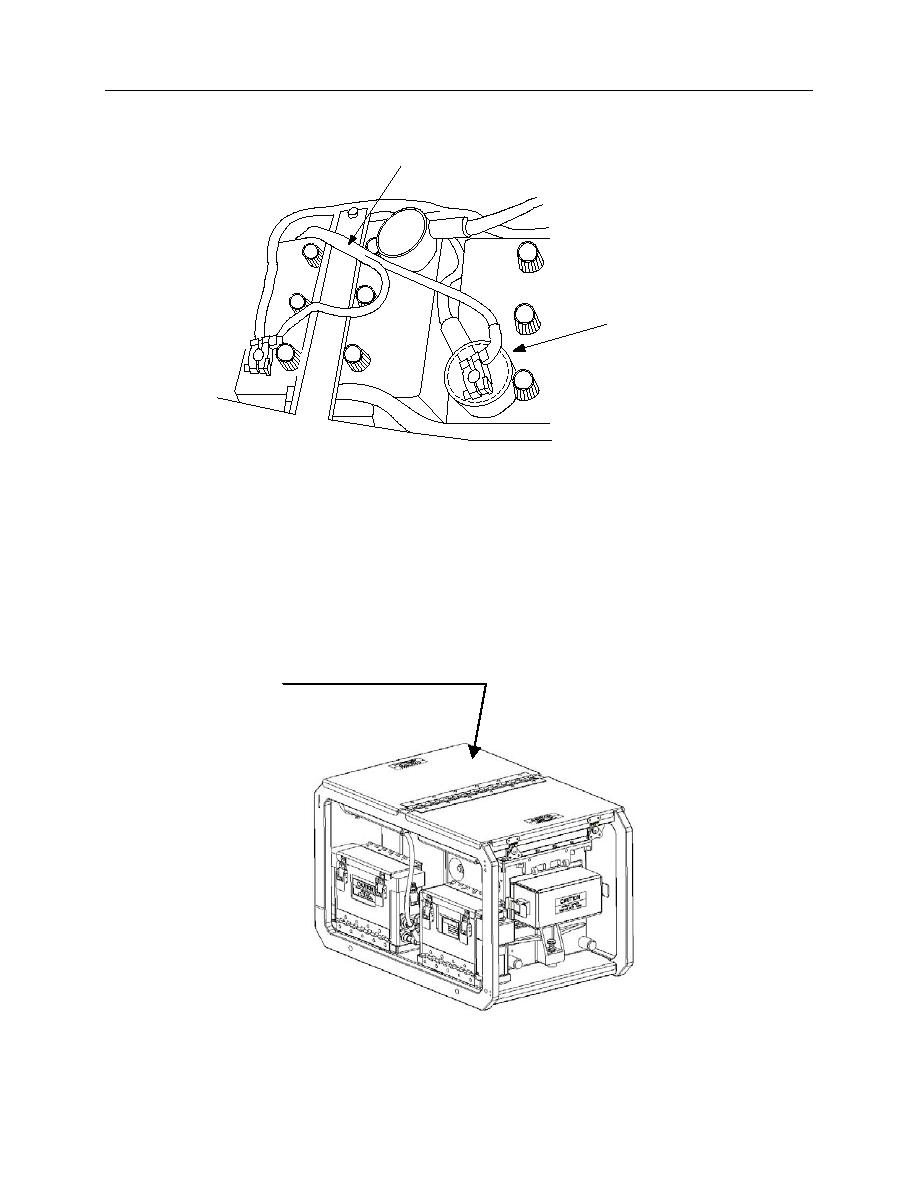 Figure 2-14 HMMWV Battery Terminal with Plastic Boot