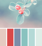 Vintage Blue - Shabby Chic Colour Palette