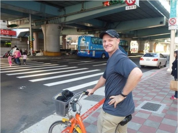 bike tour in Taipei Taiwan
