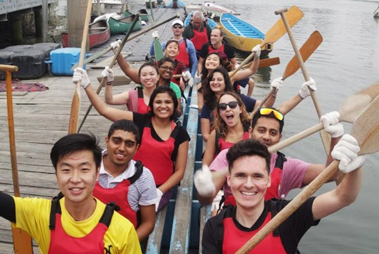 Team Building in Taiwan - Dragan Boat Experience