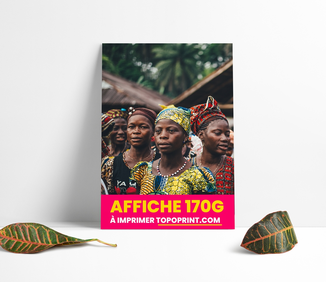 Impression Affiche A0 Dakar SENEGAL