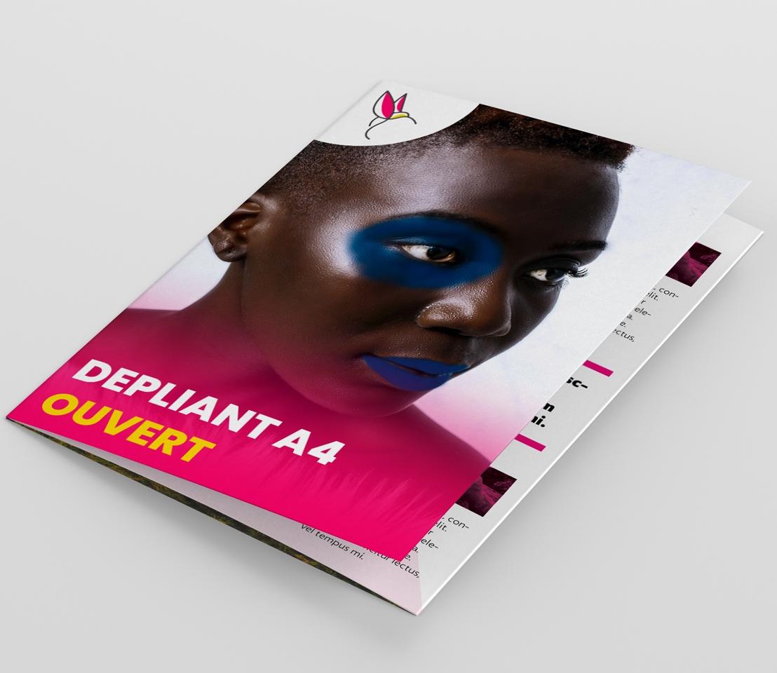 Impression dépliant A4 Dakar Senegal