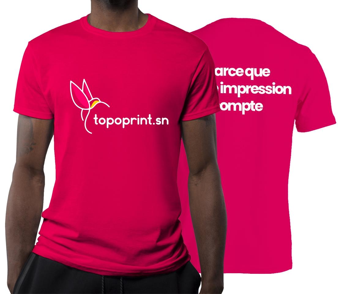 Impression T shirt