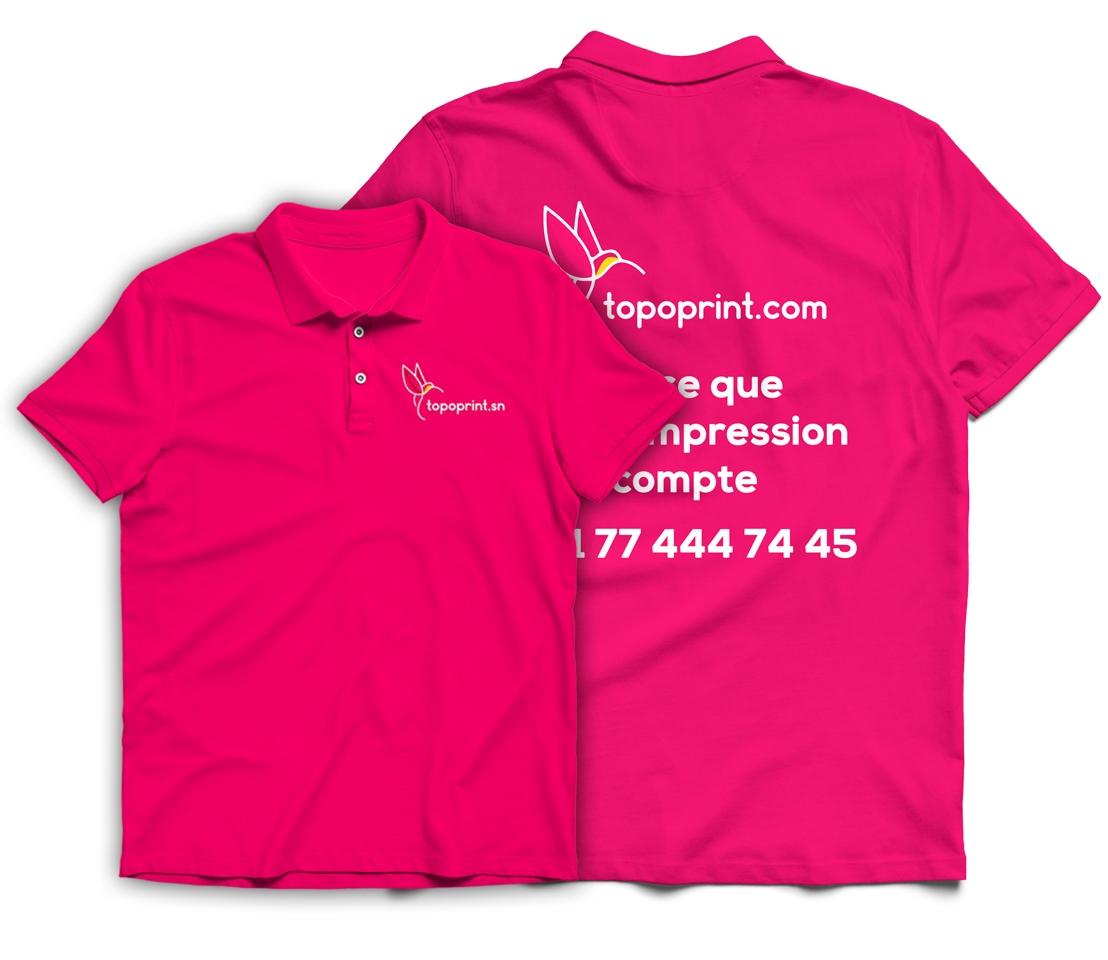 Impression T shirt Dakar Senegal