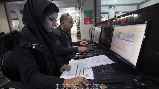 Использование Интернета в Иране