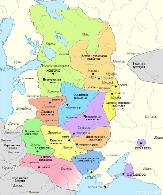 Киевская Русь в период расцвета